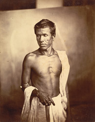 Portrait of a man, Eastern Bengal. 24